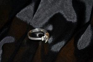 Винтажное кольцо | Полумесяц и звезда